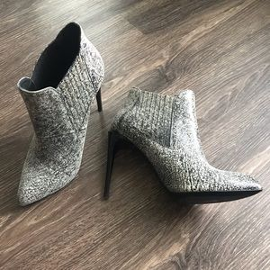 Kurt Geiger marbled leather ankle boots